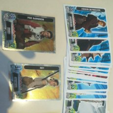 Trading Cards: LOTE 45 CARDS DISTINTAS STAR WARS FORCE ATTAX CARREFOUR TOPPS. Lote 188741237