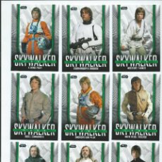 Trading Cards: STAR WARS SKYWALKER SAGA : SUBSET ICONIC LOOKS (10 CARDS, TOPPS 2019). MUY LIMITADO. Lote 189214602
