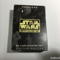 Trading Cards: STAR WARS CUSTOMIZABLE CARD GAME. Lote 189357647