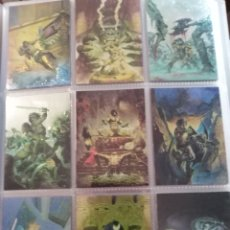 Trading Cards: CONAN II TRADING CARDS CHROMIUM SET COMPLETO 90 CARDS. Lote 189628075