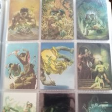Trading Cards: CONAN I TRADING CARDS CHROMIUM SET COMPLETO 90 CARDS. Lote 189628152