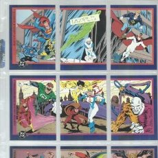 Trading Cards: DC SERIES 2, 1993, COMPLETA, 150 TRADING CARDS, DC/SKYBOX, IMPECABLE. Lote 191146461