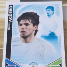 Trading Cards: CARD TOPPS MATCH ATTAX MUNDIAL 2010 SERGIO AGUERO ARGENTINA. Lote 206842695