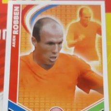 Trading Cards: CARD TOPPS MATCH ATTAX MUNDIAL 2010 ARJEN ROBBEN HOLANDA. Lote 222371000