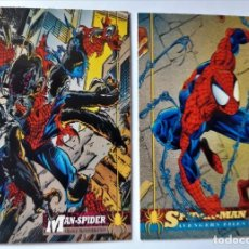 Trading Cards: LOTE 2 CROMOS/CARDS SPIDERMAN ORIGINAL MARVEL 1994 . Lote 192842648