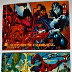 Trading Cards: LOTE 2 CROMOS/CARDS SPIDERMAN ORIGINAL MARVEL 1994. Lote 192844213