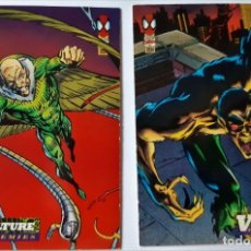 Trading Cards: LOTE 2 CROMOS/CARDS SPIDERMAN ORIGINAL MARVEL 1994. Lote 192844411