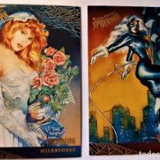 Trading Cards: LOTE 2 CROMOS/CARDS SPIDERMAN FLEER ULTRA ORIGINAL MARVEL 1995. Lote 192857216