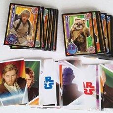 Trading Cards: LOTE DE 118 CROMOS O CARDS DEL ALBUM STAR WARS. EL CAMINO DE LOS JEDI - COLECCION COMPLETA. Lote 194305150