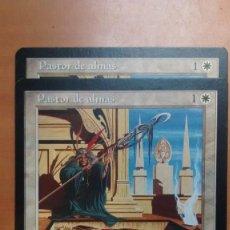 Trading Cards: PASTOR DE ALMAS, VIENTO LIGERO 1997, CARTAS MAGIC - POSIBILIDAD DE ENTREGA EN MANO EN MADRID. Lote 194381822