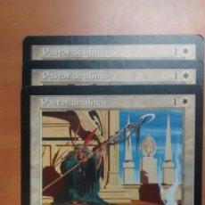 Trading Cards: PASTOR DE ALMAS, VIENTO LIGERO 1997, CARTAS MAGIC - POSIBILIDAD DE ENTREGA EN MANO EN MADRID. Lote 194381925