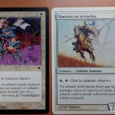 Trading Cards: MAESTRO EN SEÑUELOS, TEMPESTAD Y NOVENA, CARTAS MAGIC - POSIBILIDAD DE ENTREGA EN MANO EN MADRID. Lote 194383073
