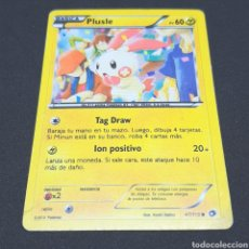 Trading Cards: (C-A03) CARTA POKÉMON 2013 - N°47/113 PLUSLE. Lote 194734600