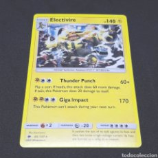 Trading Cards: (C-A03) CARTA POKÉMON 2018 - N°43/147 ELECTIVIRE. Lote 194734717