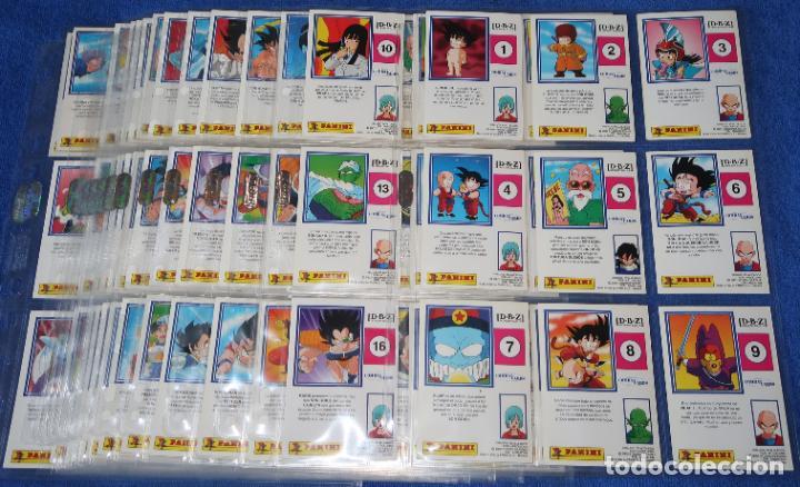 COMBAT CARDS - DRAGON BALL Z - PANINI ¡COLECCIÓN COMPLETA! (Coleccionismo - Cromos y Álbumes - Trading Cards)