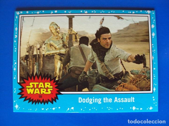 Trading Cards: STAR WARS EL ASCENSO DE SKYWALKER 98 AZUL BASE TOPPS TRADING CARD NUEVA - Foto 1 - 194907070