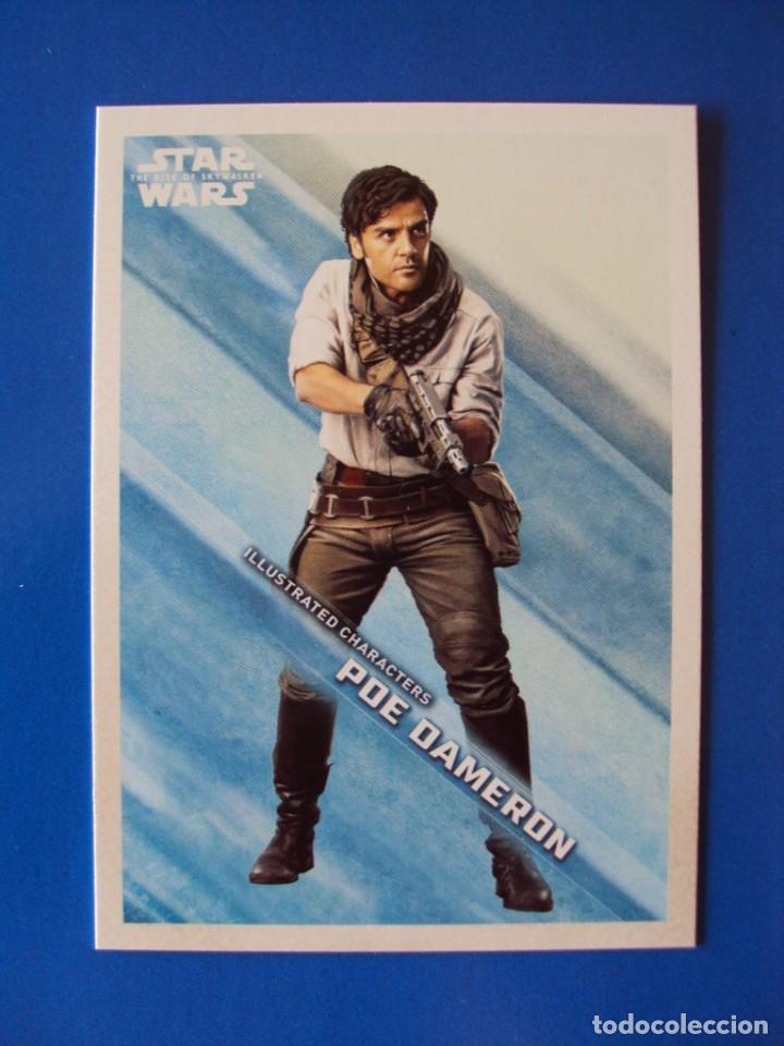 STAR WARS EL ASCENSO DE SKYWALKER IC - 3 TOPPS TRADING CARD NUEVA (Coleccionismo - Cromos y Álbumes - Trading Cards)