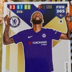 Trading Cards: CARD PANINI FIFA 365 ANTONIO RUDIGER CHELSEA. Lote 194968483