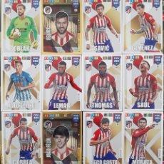Trading Cards: LOTE 12 CARDS PANINI FIFA 365 ATLETICO DE MADRID MORATA COSTA SAUL JOAO FELIX SAUL OBLAK. Lote 194969321