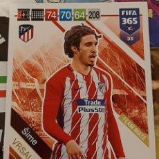 Trading Cards: CARD PANINI FIFA 365 SIME VRSALJKO ATLETICO DE MADRID. Lote 194970048