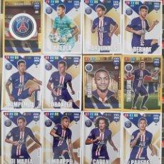 Trading Cards: LOTE 12 CARDS PANINI FIFA 365 PARIS SAINT GERMAIN PSG KIMPEMBE DRAXLER DI MARIA MBAPPE CAVANI. Lote 194988112