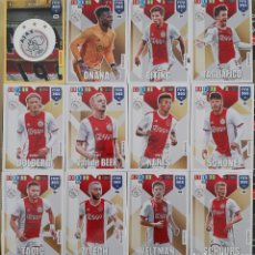 Trading Cards: LOTE 12 CARDS PANINI FIFA 365 AJAX TAGLIAFICO DOLBERG SCHONE ZIYECH. Lote 194988923