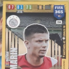 Trading Cards: CARD PANINI FIFA 365 RAZVAN MARIN IMPACT SIGNING AJAX. Lote 194990447