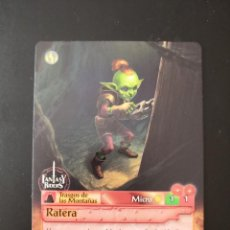 Trading Cards: FANTASY RIDERS 2 - 280 RATERA MICRO. Lote 195010918