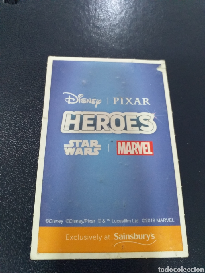 Trading Cards: Trading cards Disney heroes ed. Inglesa Sainsbury 2019 - Foto 2 - 195334310