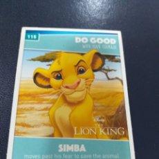 Trading Cards: TRADING CARDS DISNEY HEROES ED. INGLESA SAINSBURY 2019. Lote 195335337