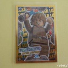 Trading Cards: LEGO STAR WARS. EDICIÓN LIMITADA. LUKE SKYWALKER. LE1. Lote 195418586