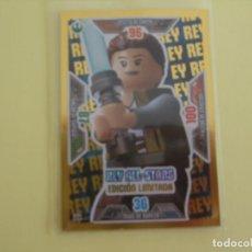 Trading Cards: LEGO STAR WARS. EDICIÓN LIMITADA. REY ALL-STARS. LE4. Lote 195419131