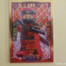 Trading Cards: LEGO NINJAGO. EDICIÓN LIMITADA. KAI MEGA PODER. LE1. Lote 195419763