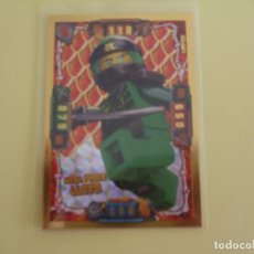 Trading Cards: LEGO NINJAGO. EDICIÓN LIMITADA. LLOYD MEGA PODER. LE2 ( CAZADORES DE DRAGONES).. Lote 195420215