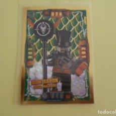 Trading Cards: LEGO NINJAGO. EDICIÓN LIMITADA. IRON BARON MEGA MALVADO. LE9 (CAZADORES DE DRAGONES).. Lote 195421240