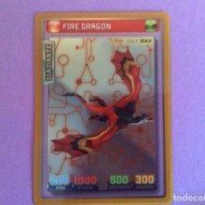 Trading Cards: INVIZIMALS BATALLA DE CAZADORES -DIAMANTE FIRE DRAGON Nº 40. Lote 195581258