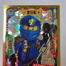 Trading Cards: LEGO NINJAGO TRAIDING CARDS GAME SERIE 3 EDICIÓN LIMITADA LE5.. Lote 195593257
