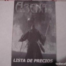 Trading Cards: SUPLEMENTO REVISTA ABENA LISTA DE PRECIOS CARTAS MAGIC, POKEMON STAR WARS, LORD OF THE RINGS. Lote 195789071
