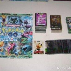 Trading Cards: ALBUM CARDS 3 REYES POKÉMON GO FUZION XYZ - %99 COMPLETO. Lote 271603528