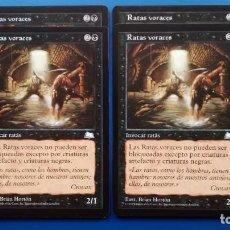 Trading Cards: RATAS VORACES, VIENTO LIGERO 1997, CARTAS MAGIC - POSIBILIDAD DE ENTREGA EN MANO EN MADRID. Lote 198519817