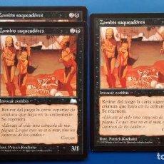 Trading Cards: ZOMBIS SAQUEADORES, VIENTO LIGERO 1997, CARTAS MAGIC - POSIBILIDAD DE ENTREGA EN MANO EN MADRID. Lote 198521507