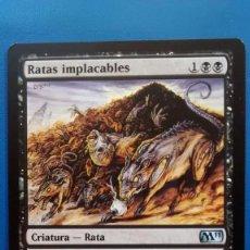 Trading Cards: RATAS IMPLACABLES, M11 2010, CARTAS MAGIC - POSIBILIDAD DE ENTREGA EN MADRID. Lote 198521961