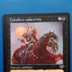 Trading Cards: CABALLERO CADAVERICO, ESPEJISMO 1996, CARTAS MAGIC - POSIBILIDAD DE ENTREGA EN MANO EN MADRID. Lote 198522402
