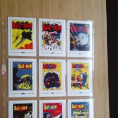Trading Cards: BATMAN TRADING CARDS - COVERS CLASSIC - COMPLETA - 63 CARDS - 2008 DC - MBE - GORBAUD . Lote 198709535