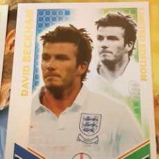 Trading Cards: CARD TOPPS MATCH ATTAX MUNDIAL 2010 DAVID BECKHAM LIMITED EDITION INGLATERRA. Lote 222371123