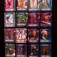 Trading Cards: LOTE COLECCION 76 CROMOS DESAFIO CHAMPIONS SENDOKAI - INCLUYE 2 GALAXY CARDS - VIRTUAL CARD. Lote 199491388