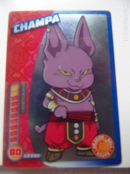DRAGON BALL SUPER PANINI 2019 - CHAMPA (Coleccionismo - Cromos y Álbumes - Trading Cards)