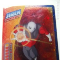Trading Cards: DRAGON BALL SUPER PANINI 2019 - JIREN. Lote 199531131