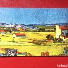 Trading Cards: TARJETA INVITACIÓN ORO LIBRA INAUGURACIÓN ESTABLECIMIENTO MADRID REHYMA GRÁFICAS S XX. Lote 199589458