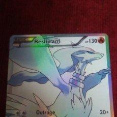 Trading Cards: CARTA POKÉMON. RESHIRAM. Lote 199634530